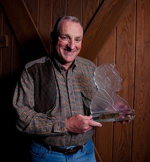 Eddie Smith presented Conservation Award.
