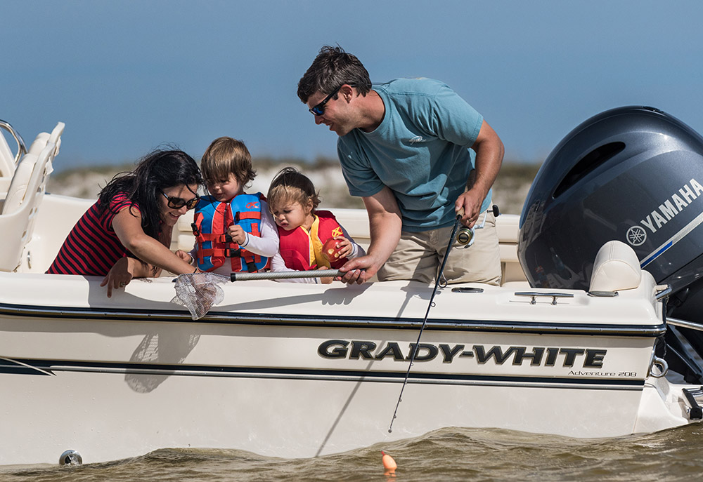 Preserving our natural resources for families to enjoy recreational fishing is a Grady-White focus.