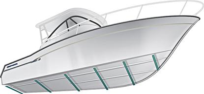 Illustration demonstrating Grady's SeaV2 hull.