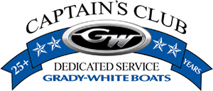 Grady-White Captain's Club, Dedicated Service logo