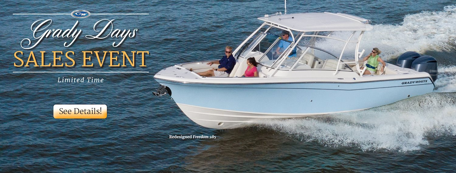 Grady-White | Dual & Center Console Saltwater Fishing Boats