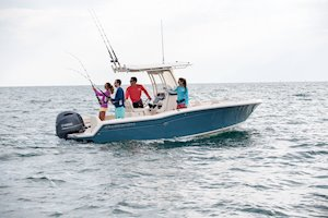 Grady-White Fisherman 216 21-foot center console fishing boat