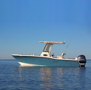 Grady-White Fisherman 216 21-foot center console boat profile