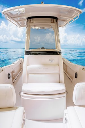 Grady-White Fisherman 216 21-foot center console t-top