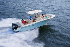 Grady-White Fisherman 236 23-foot center console cruising boat