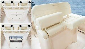 Grady-White Fisherman 236 23-foot center console lean bar