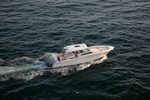 Grady-White Canyon 456 45-foot center console fishing offshore