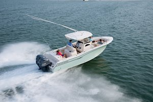 Grady-White Canyon 271 27-foot center console boat starboard running