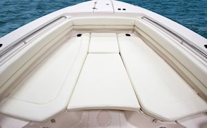 Grady-White Canyon 306 30-foot center console casting cushions