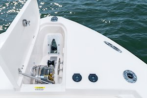Grady-White Canyon 306 30-foot center console anchor windlass