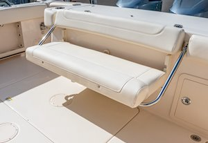Grady-White Canyon 306 30-foot center console aft bench seat