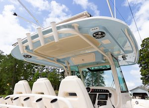 Grady-White Canyon 336 33-foot center console t-top color