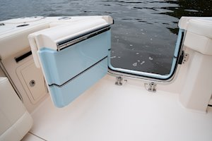 Grady-White Canyon 336 33-foot center console side door