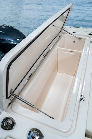 Grady-White Canyon 336 33-foot center console aft box