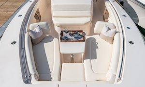 Grady-White Canyon 376 37-foot center console bow overall