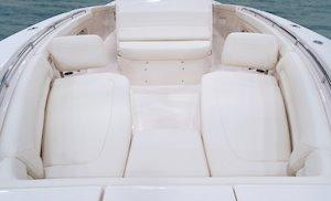 Grady-White Canyon 376 37-foot center console forward seats