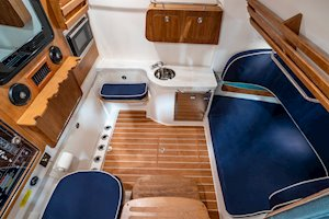 Grady-White Canyon 376 37-foot center console overall head