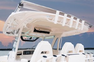 Grady-White Canyon 376 37-foot center console t-top