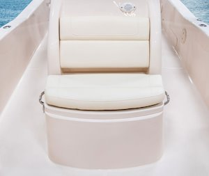 Grady-White 251 CE 25-foot Coastal Explorer fishing boat molded console seat