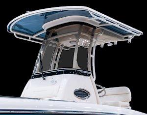 Grady-White 251 CE 25-foot Coastal Explorer fishing boat windshield