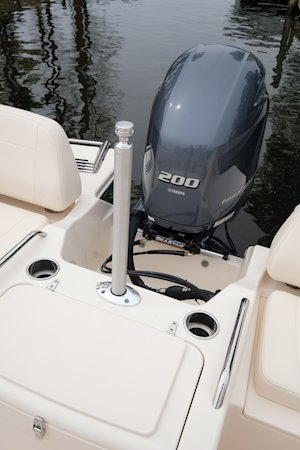 Grady-White Freedom 215 21-foot dual console ski pylon