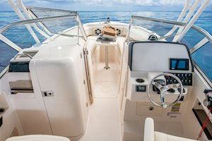 Grady-White Freedom 235 23-foot dual console helm overall