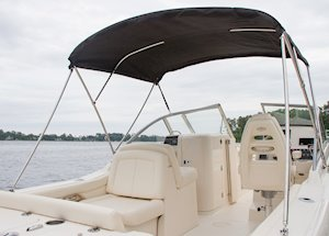Grady-White Freedom 235 23-foot dual console vista top