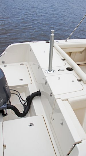 Grady-White Freedom 235 23-foot dual console ski pylon