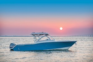 Grady-White Freedom 325 32-foot dual console fishing boat