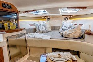 Grady-White Boats Express 330 33-foot Express Cabin Boat forward berth