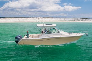 Grady-White Boats Express 330 33-foot Express Cabin Boat fishing inshore