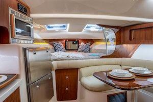 Grady-White Boats Express 370 37-foot Express Cabin boat cabin interior forward berth