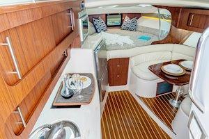 Grady-White Boats Express 370 37-foot Express Cabin boat cabin interior