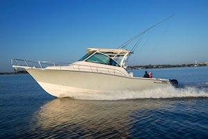 Grady-White Boats Express 370 37-foot Express Cabin boat running