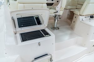 Grady-White Boats Express 370 37-foot Express Cabin boat electric cockpit grill