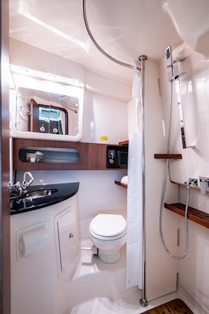 Grady-White Boats Express 370 37-foot Express Cabin boat head