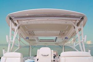 Grady-White Boats Express 370 37-foot Express Cabin boat hardtop