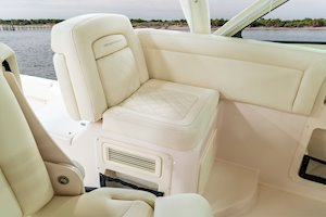 Grady-White Boats Express 370 37-foot Express Cabin boat port companion seat