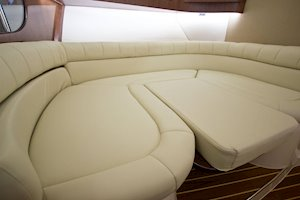 Grady-White Boats Express 370 37-foot Express Cabin boat convertible dinette area berth