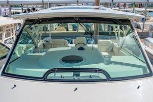 Grady-White Boats Express 370 37-foot Express Cabin boat windshield