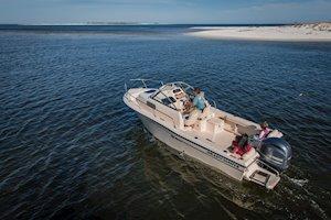 Grady-White Boats Adventure 208 20-foot Walkaround Cabin fishing boat cruising