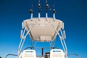 Grady-White Boats Adventure 208 20-foot Walkaround Cabin fishing boat hardtop