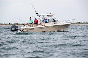 Grady-White Canyon 228 22-foot walkaround cabin fishing boat fishing inshore