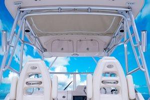 Grady-White Freedom 232 23-foot walkaround cabin fishing boat hardtop