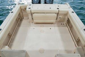 Grady-White Marlin 300 30-foot walkaround cabin boat cockpit