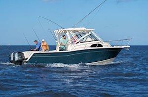 Grady-White Marlin 300 30-foot walkaround cabin boat fishing