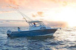 Grady-White Marlin 300 30-foot walkaround cabin boat cruising