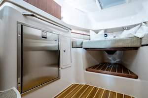 Grady-White Marlin 300 30-foot walkaround cabin boat refrigerator