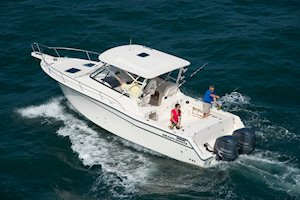 Grady-White Boats Express 330 33-foot Express Cabin Boat fishing offshore
