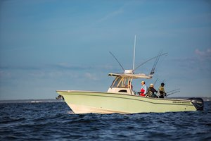 Grady-White Canyon 306 30-foot center console fishing boat